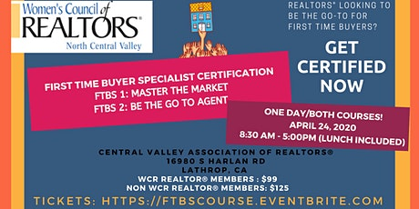 REALTORS First Time Buyer Specialist Certification Course (ONE DAY) tickets