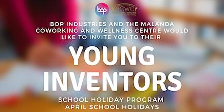 Young Inventors School Holiday Program - Primary School tickets