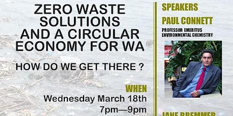 Zero Waste Solutions for WA tickets