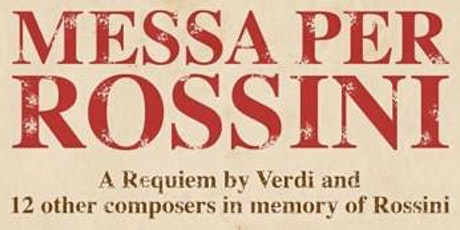 MESSA PER ROSSINI tickets
