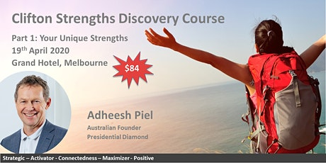 Clifton Strengths Discovery Course tickets