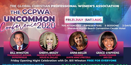 "GCPWA PRESENTS ""UNCOMMON 2020"": The Ultimate Christian Professionals Conference  tickets"