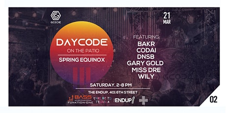(Postponed) DayCode Patio Party: Spring Equinox tickets