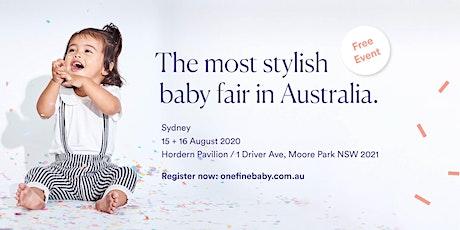 Australia's Most Stylish FREE Baby Fair SYDNEY 2020 tickets