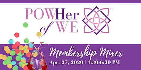 Get to Know POWHer Membership Mixer: DATE TENTATIVE tickets