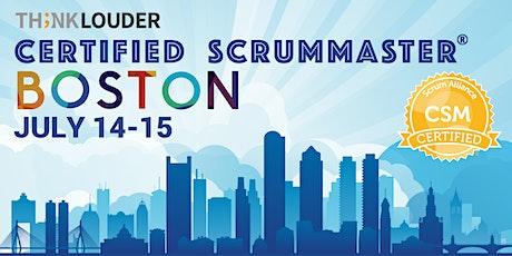 Boston Certified ScrumMaster® Workshop (CSM) - Jul 14-15 tickets