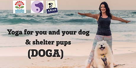 Yoga for you and your dog & shelter dogs (DOGA) Session 2 tickets