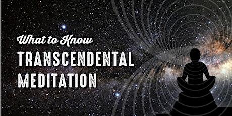 Introduction to Transcendental Meditation tickets