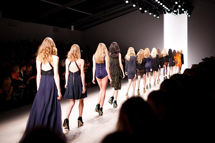 London Hat Week Exhibition Preview Fashion Catwalk Show at The Shard image
