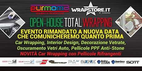 OPEN HOUSE TOTAL WRAPPING biglietti