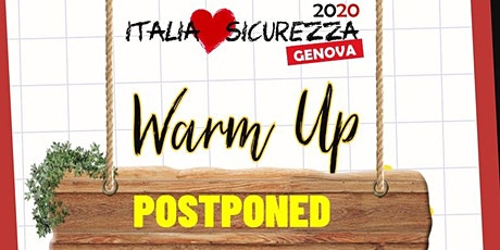 Warm Up Event  Genova - Italia Loves Sicurezza biglietti