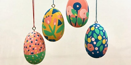 Design and Paint your own Wooden Easter Egg tickets