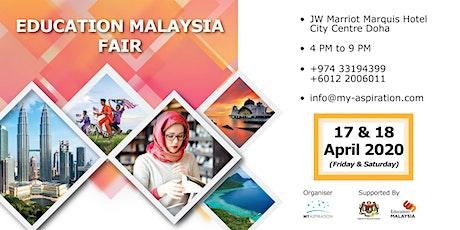 EDUCATION MALAYSIA FAIR IN QATAR tickets