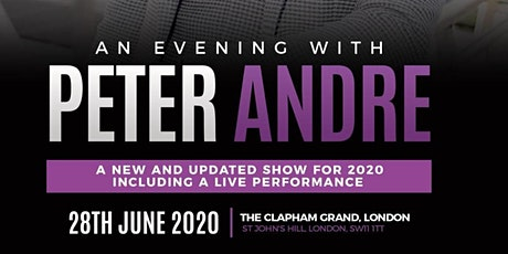 An Audience with Peter Andre tickets