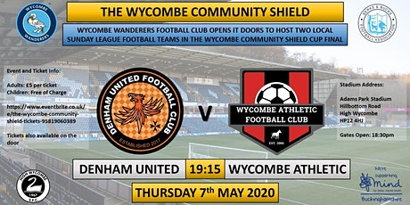 The Wycombe Community Shield tickets