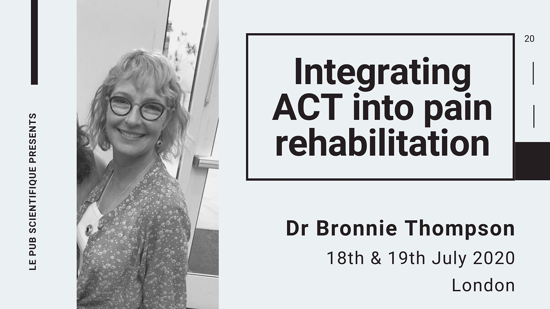 Integrating ACT into pain rehabilitation