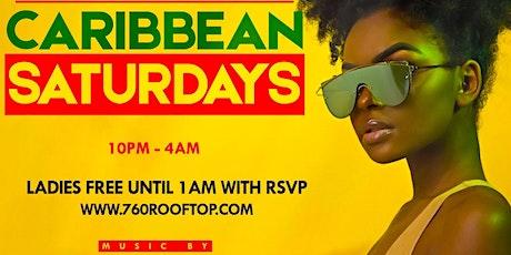 #1 Voted  Caribbean Saturdays Now at 760 Rooftop Manhattan tickets