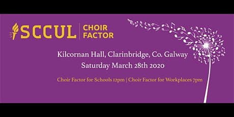 Choir Factor For Schools tickets