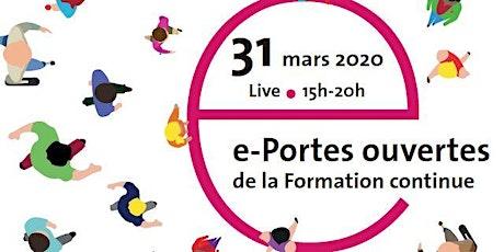 e-Portes ouvertes de la Formation continue de l'Université de Genève billets