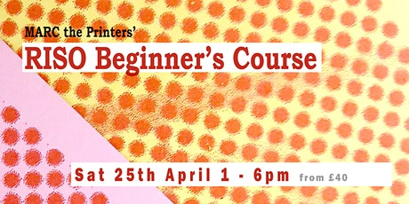 MARC's RISO Beginner's Course tickets