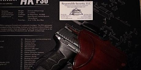 NC Concealed Carry Handgun Permit Class - New Bern, NC - POSTPONED tickets