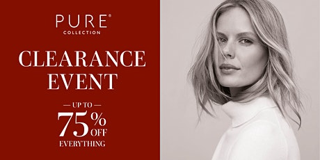 Pure Collection Cashmere sale - up to 75% discount tickets