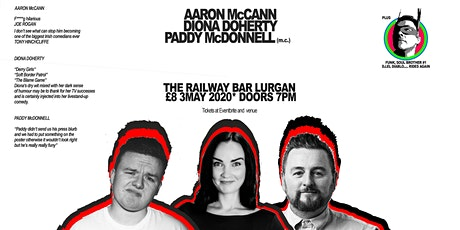 Aaron McCann, Diona Doherty, Paddy McDonnell & DJ  tickets