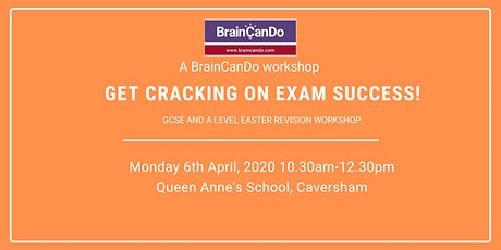 CANCELLED: Get cracking on exam success! tickets