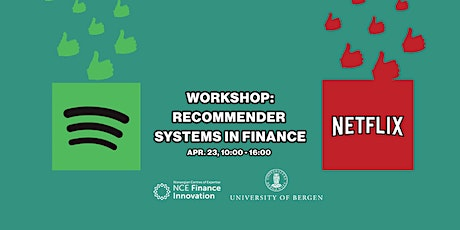 Workshop: Recommender systems in finance tickets