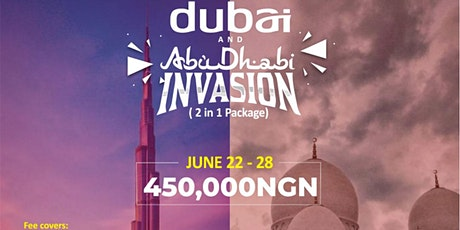 DUBAI & ABUDHABI TRIP tickets