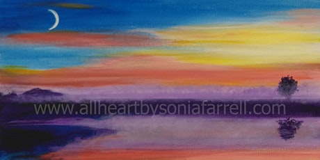 'Sunset Hues' Art Experience with Sonia Farrell:Creative Hearts Art tickets