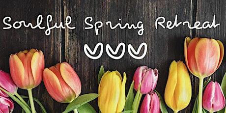 Soulful Spring Yoga & Meditation Retreat tickets