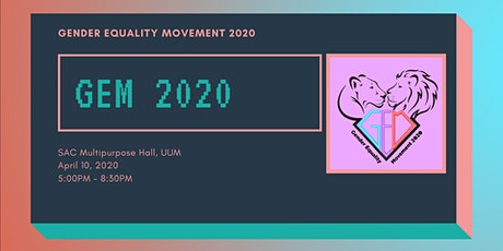 Gender Equality Movement 2020 tickets