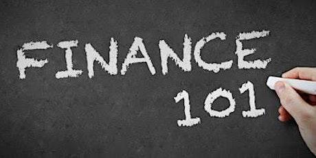 Finance 101 tickets