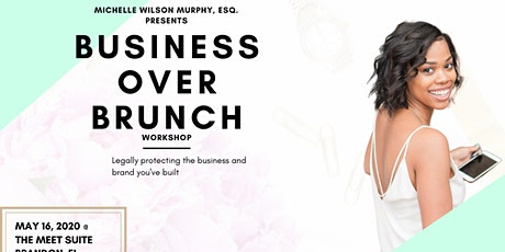 Business Over Brunch: Protecting your brand and business legally tickets