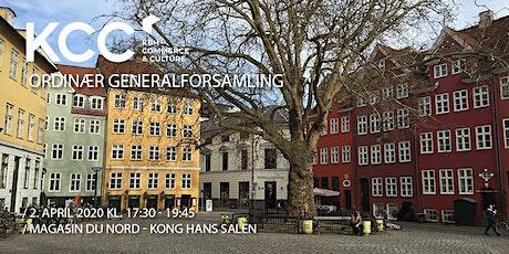 KBH - Commerce & Culture - Ordinær generalforsamling tickets