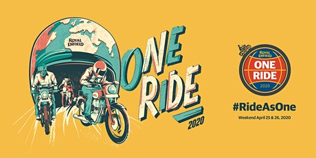 Royal Enfield One Ride 2020 Nederland tickets