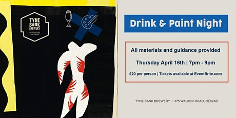 Drink and Paint Night tickets