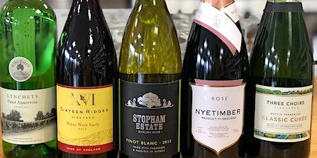 English Wine Week Tasting tickets