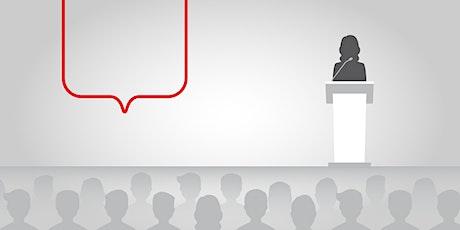 ANNULÉ-Conférence–Présenter efficacement est payant billets