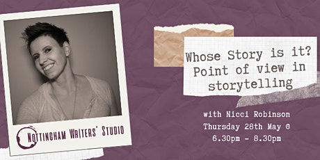 Whose Story is it? Point of view in storytelling: Online workshop tickets