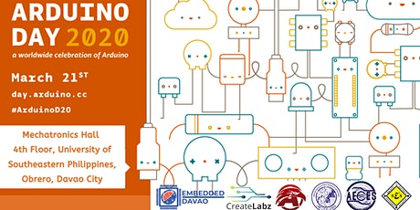Arduino Day 2020: Davao [POSTPONED UNTIL FURTHER NOTICE] tickets