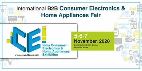 India Consumer Electronics and Home Appliances Exhibition tickets