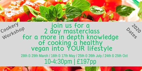 Vegan 2 day Masterclass tickets