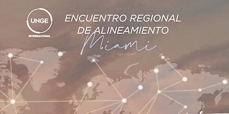 Encuentro Regional de Alineamiento MIAMI boletos