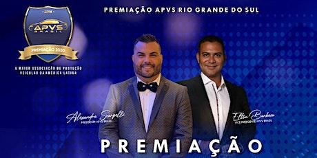 Premiação APVS RS ingressos