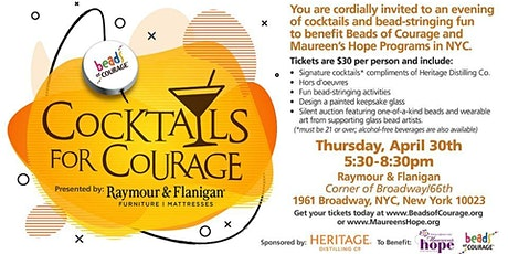 Cocktails for Courage - New York City tickets