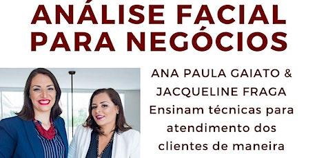 Curso Análise Facial para Negócios ingressos