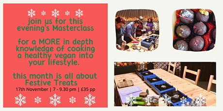 Vegan Evening Cookery Course tickets