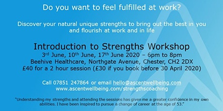 Introduction to Strengths Workshop tickets